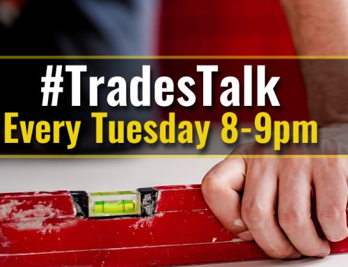 Three reasons why you should join in the #TradesTalk Twitter chat