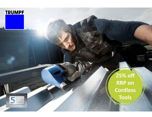 Visit the TRUMPF stand at Manchester for great savings!