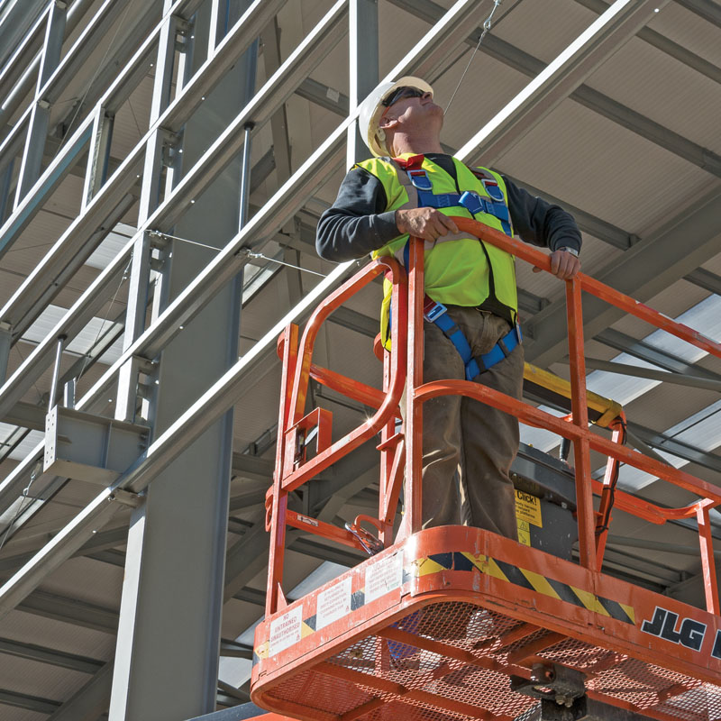 How to stay safe when working at height