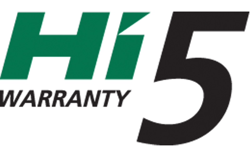 Introducing the new HiKOKI Power Tools extended 5 year warranty